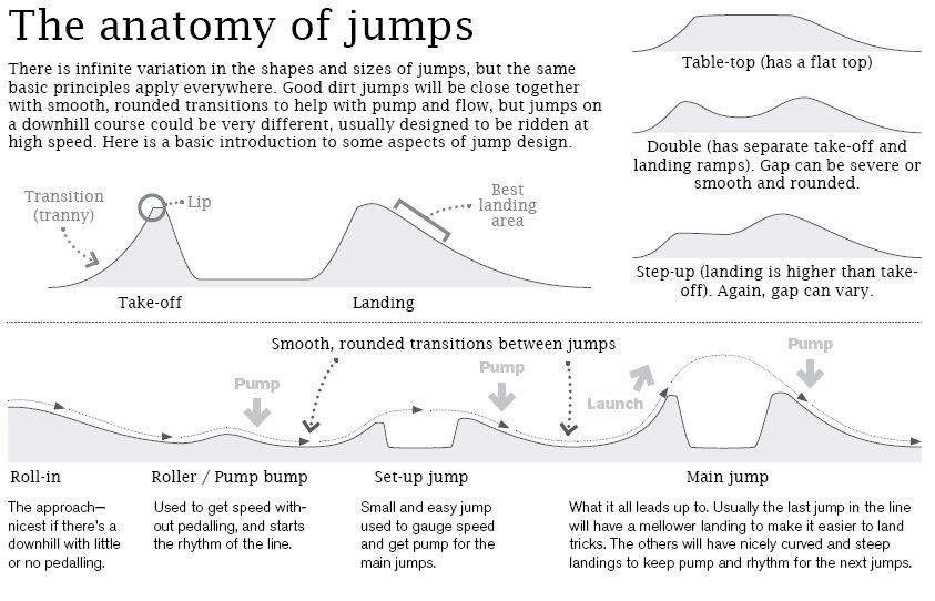 Bike Jump Designs Httpcrankthe Anatomy Of Dirt Jumps
