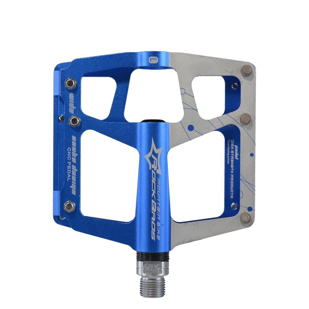 """New Bicycle VP-565 Alloy Pedals 1//2/"""" Blue."""