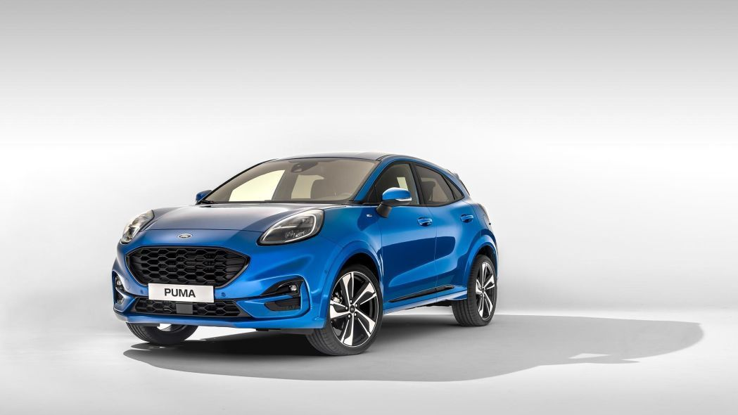 This Is The New Ford Puma Coupe Crossover Ford Puma Ford Coupe
