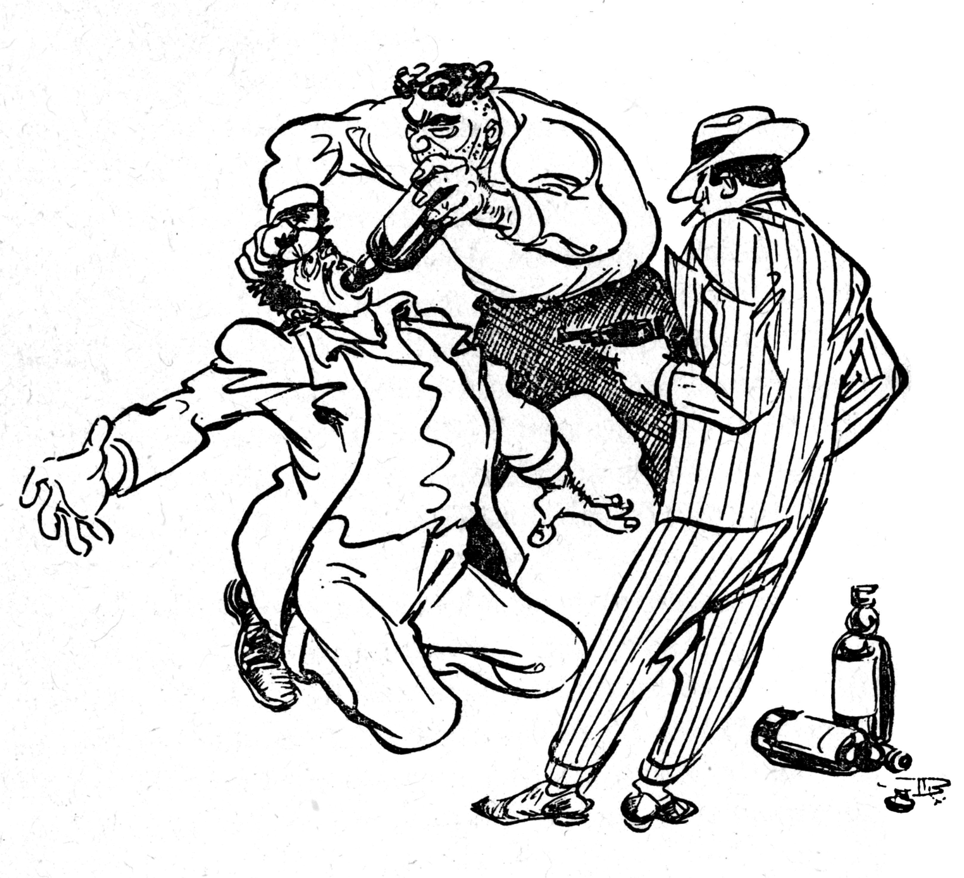 Gangster Sketches: Gangsta Cartoon Characters