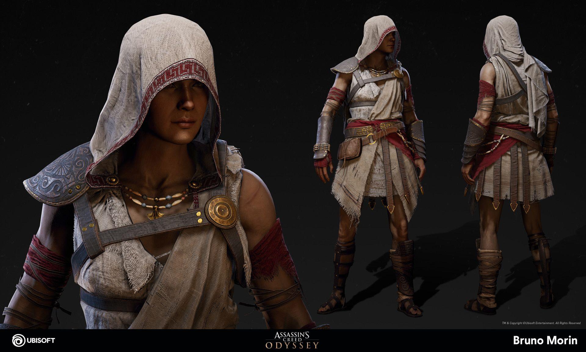 Artstation Assassin S Creed Odyssey Pilgrim Outfit Bruno