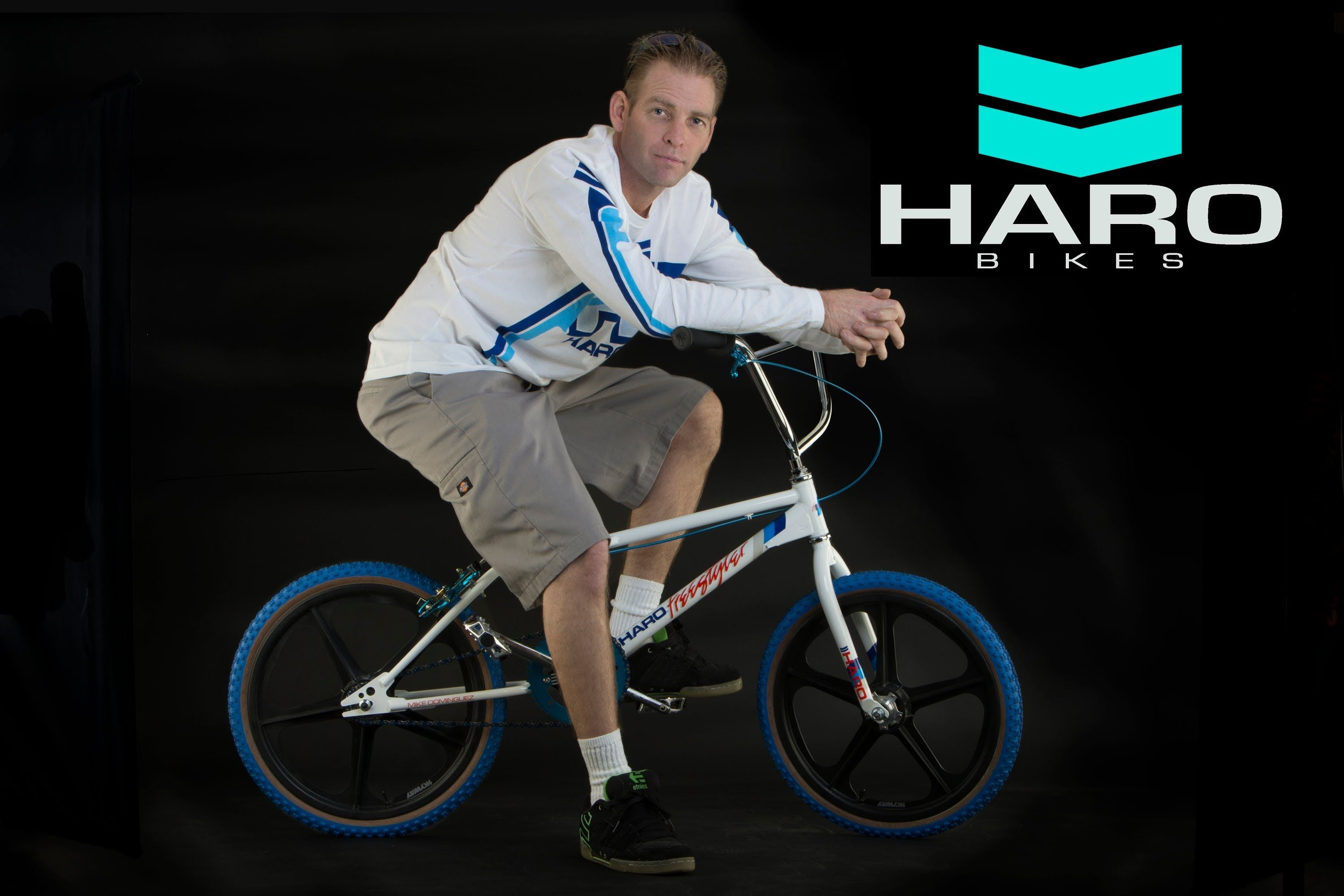 Mike Dominguez joins the Haro Legends team MA MA