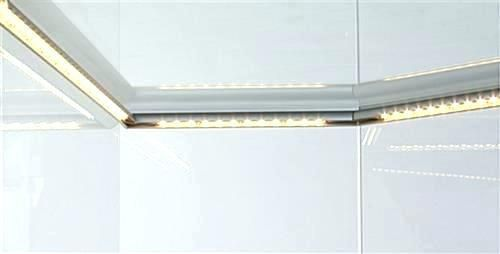 Display Cabinet Lighting Fixtures Retail Counter