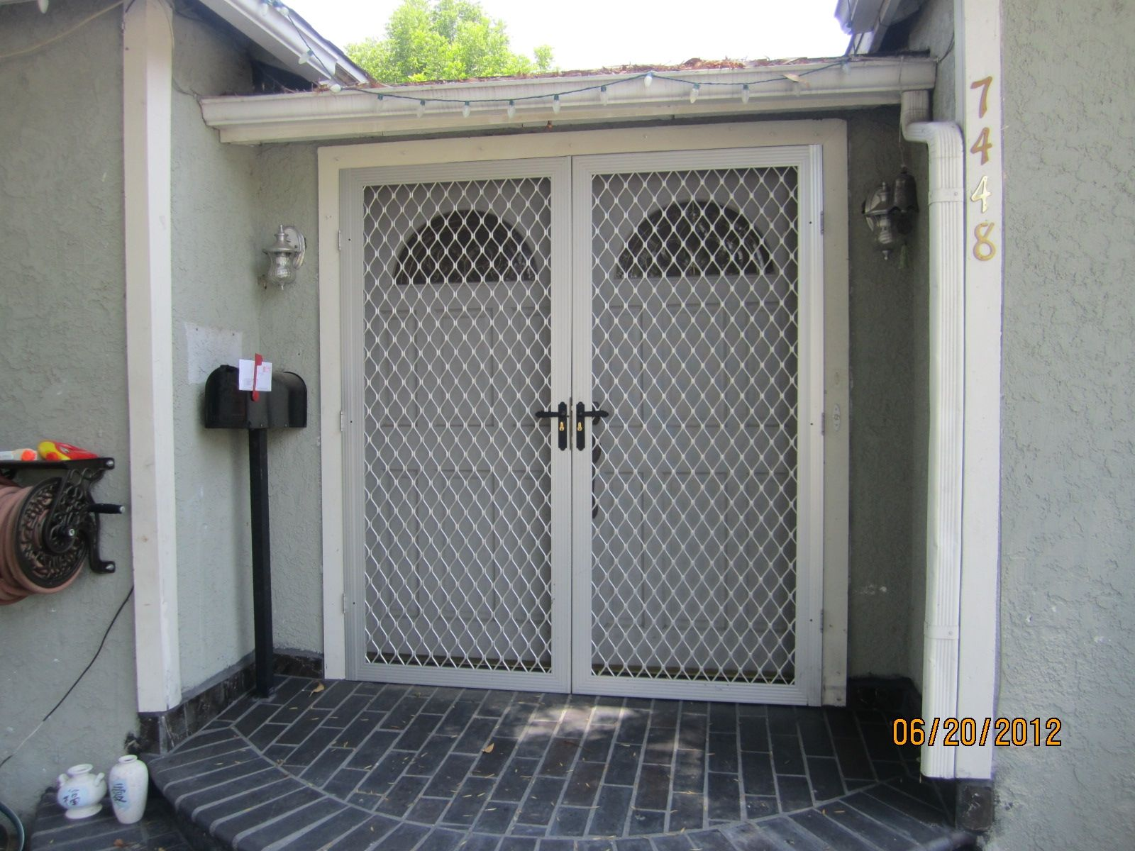 mobile home security screen doors window screen