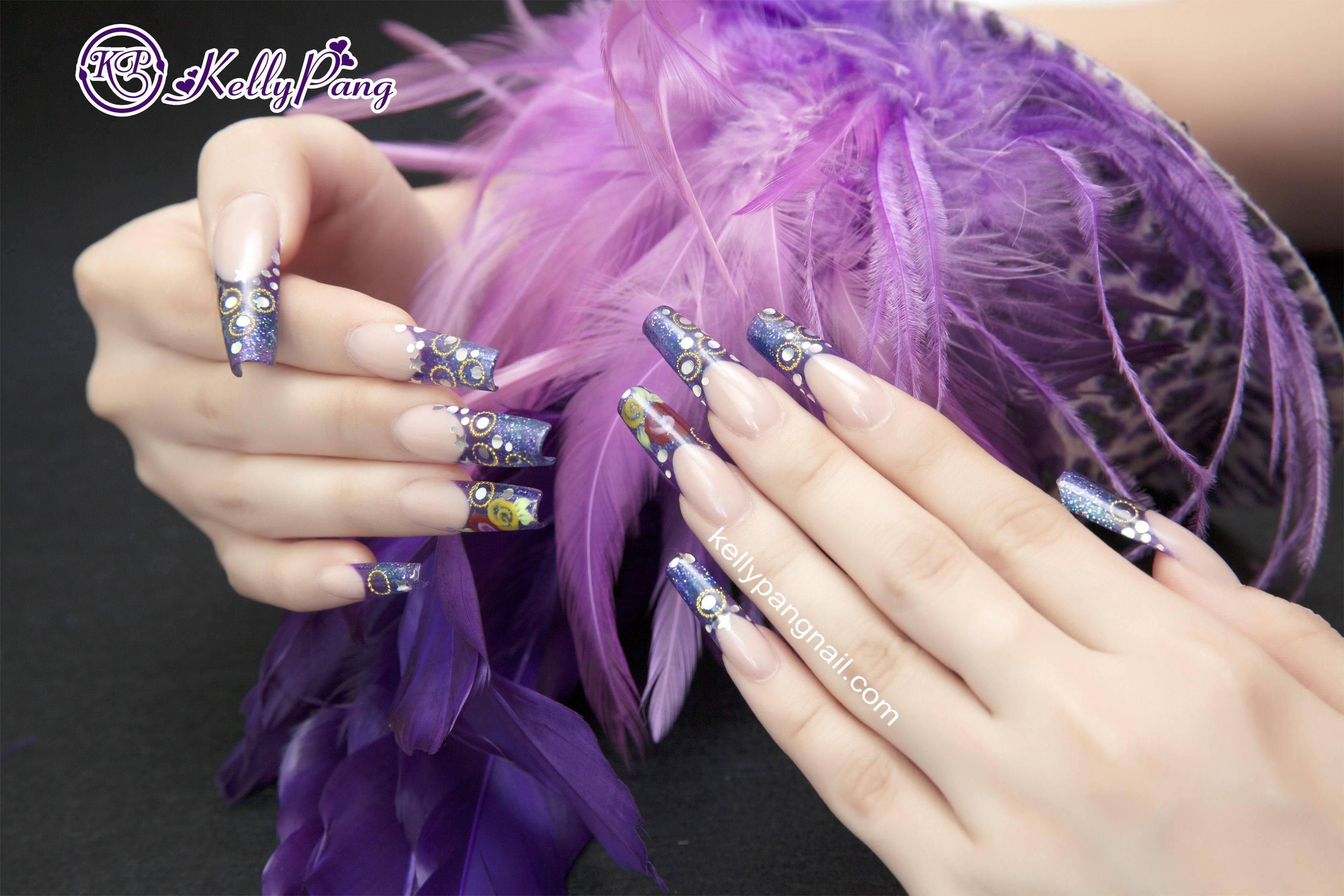 Nail Art (Design Sculpture ) | Kelly pang nails | Pinterest
