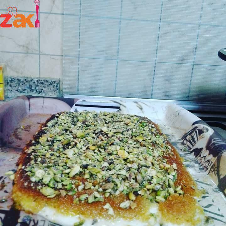 كنافة التوست أفضل حل لو ما عندك شعر الكنافة زاكي Recipes Food Yummy
