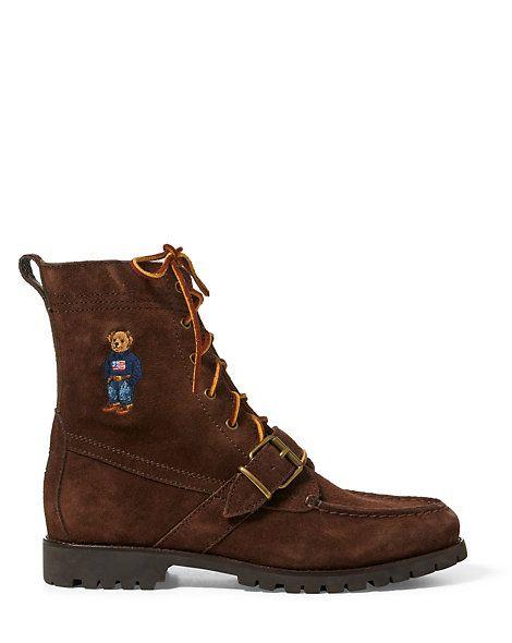 Ranger Polo Bear Suede Boot | Boots