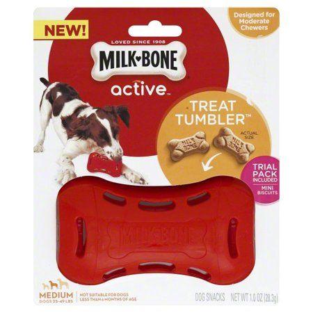Milk Bone Treat Tumbler Interactive Dog Toy For Medium Dogs In