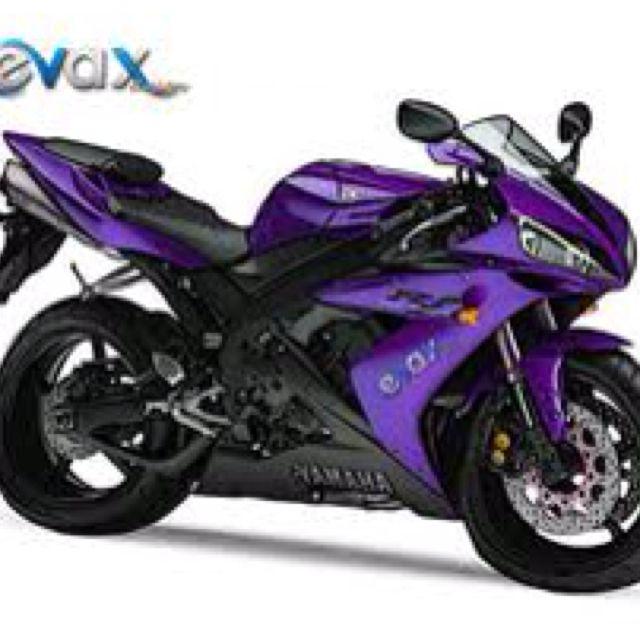 Purple Motorcycle Yamaha Motorcycles Sports Bikes Motorcycles