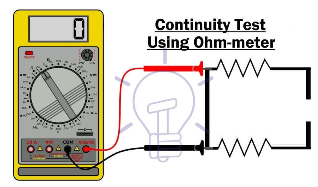 Diagram How To Test Electrical Circuits