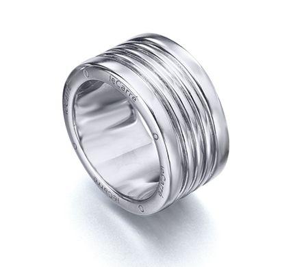 d059f7a878d2 Anillo ancho de Plata de 1ª Ley Recubierta de Rodio LA036RO  joyería   anillo