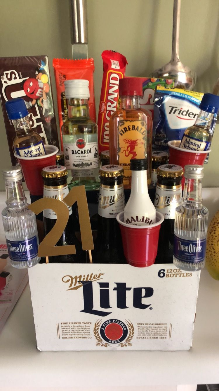 Easy 21st Birthday Gift For A Guy 21st Birthday Gifts For Boyfriend Mens Birthday Gifts 21st Birthday Gifts