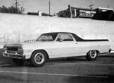 The Chevrolet El Camino In Scale