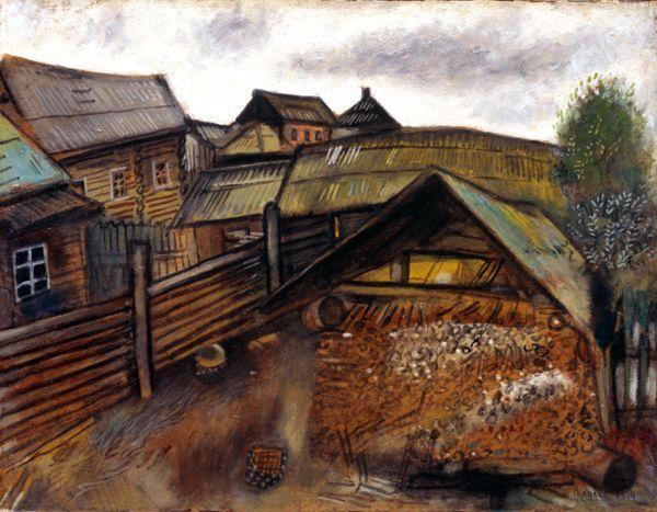 Marc Chagall's  native Shtetls  village of Vitebsk