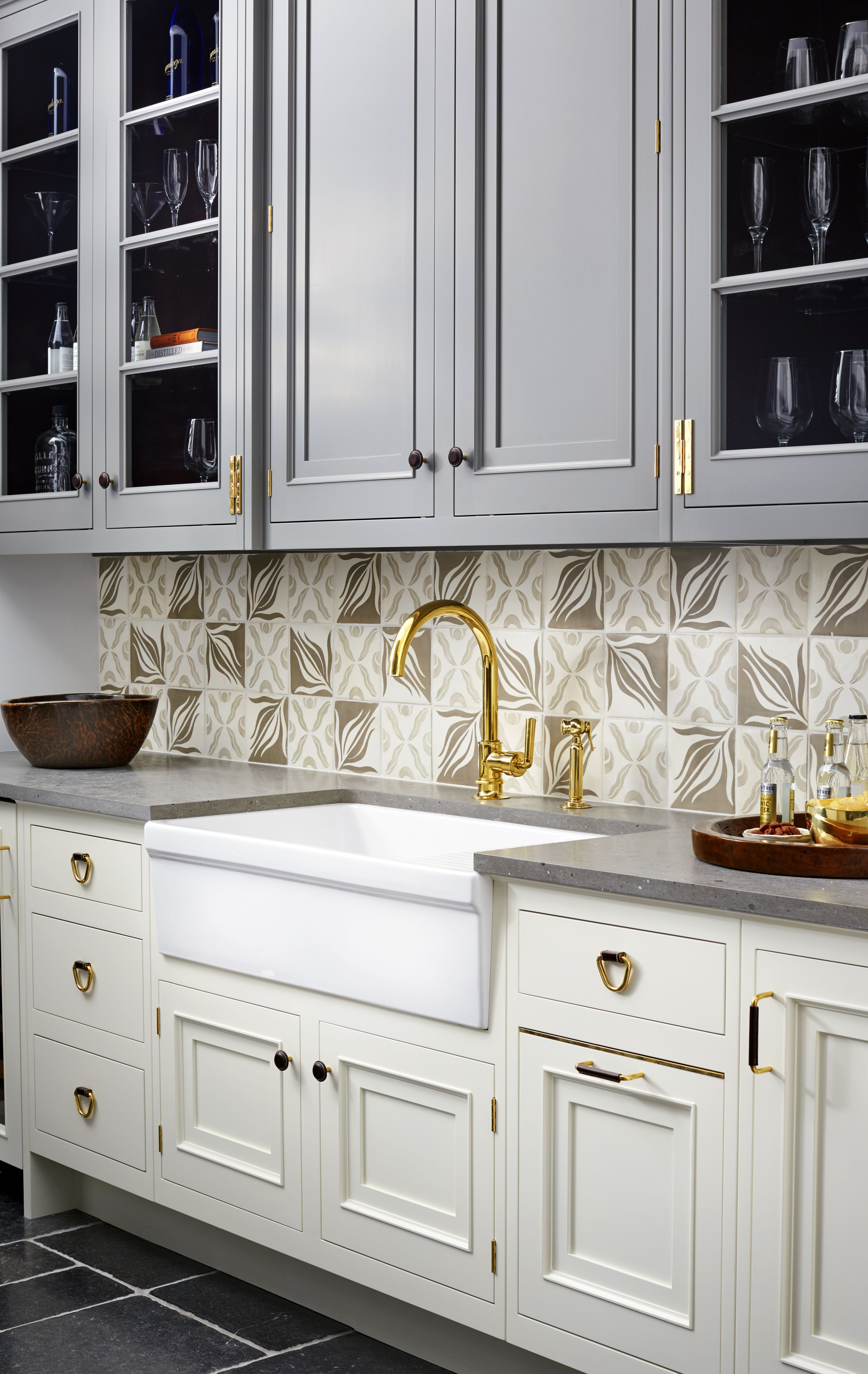 Henry Gooseneck Kitchen Faucet with Lever Handle and Spray | Henry ...
