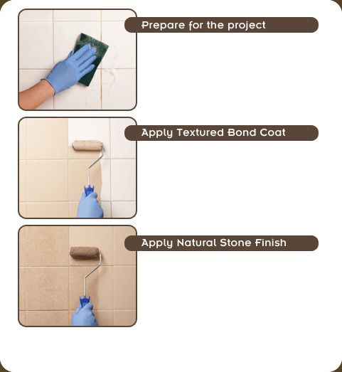 How-to Guide: Rust-Oleum Tile Transformations™ - Natural Stone ...