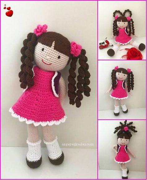 Aprenda a fazer bonecas de amigurumi no Curso Online de Amigurumi ... | 578x474