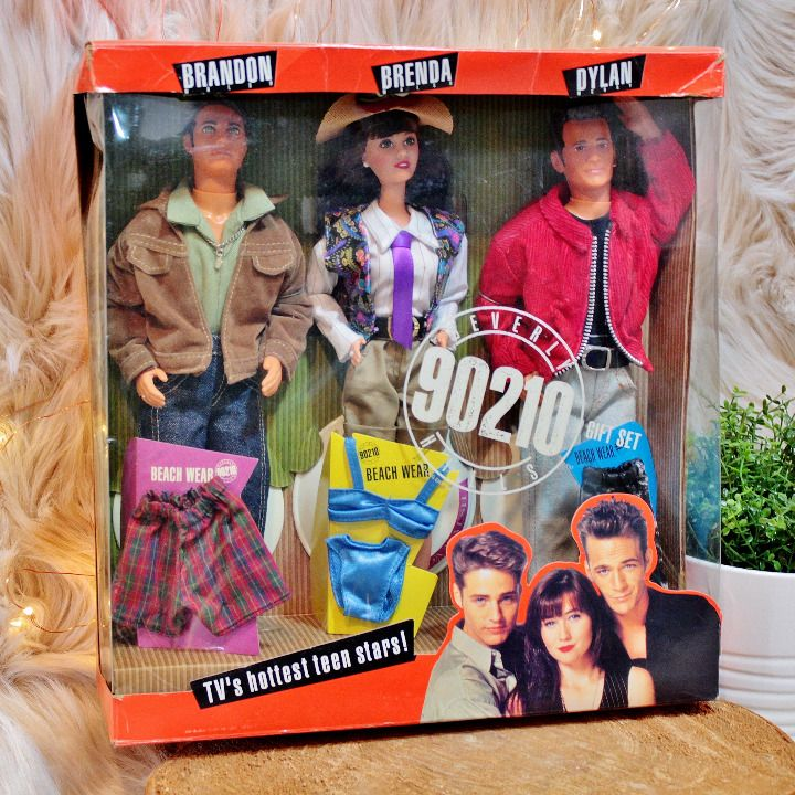 58bd381f Beverly Hills 90210 Brandon Brenda Dylan #90210 #collectibles #90s  #nostalgia