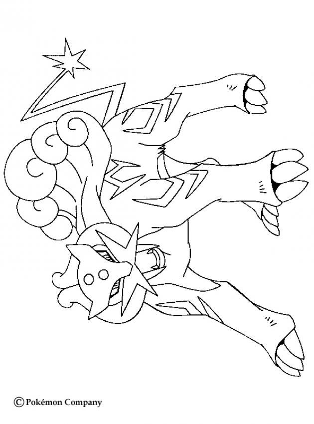 Raikou Pokemon Coloring Page More Eletric Pokemon Coloring Sheets