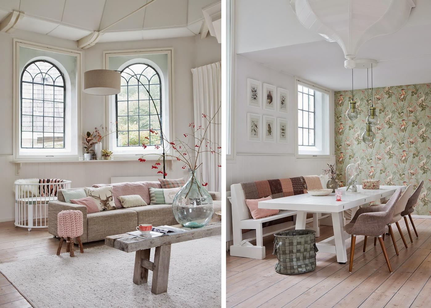 Una antigua iglesia convertida en vivienda estilo escandinavo pinterest hogar interiores - Decoracion de viviendas ...