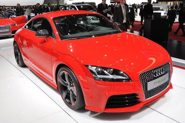 2012 Audi Tt Rs Plus Is A Diet We Can Live With Audi Tt Audi Tt Rs Audi