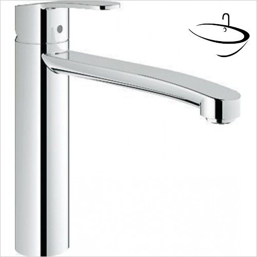 Grohe Kitchen Mixer Taps - Eurostyle Cosmopolitan Sink Mixer 1/2 ...