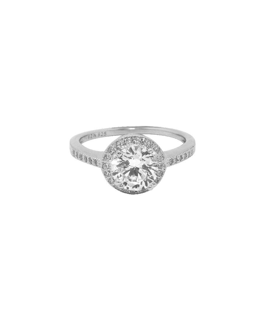 Look at this Michelle Lee Cubic Zirconia & Sterling Silver Round-Cut Ring on #zulily today!