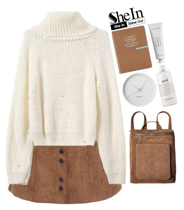 """#SheIn"" by credentovideos ❤ liked on Polyvore featuring moda, Georg Jensen, philosophy e Byredo"
