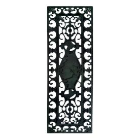 Best Imports Decor Black Rectangular Stair Tread Mat Common 3 400 x 300