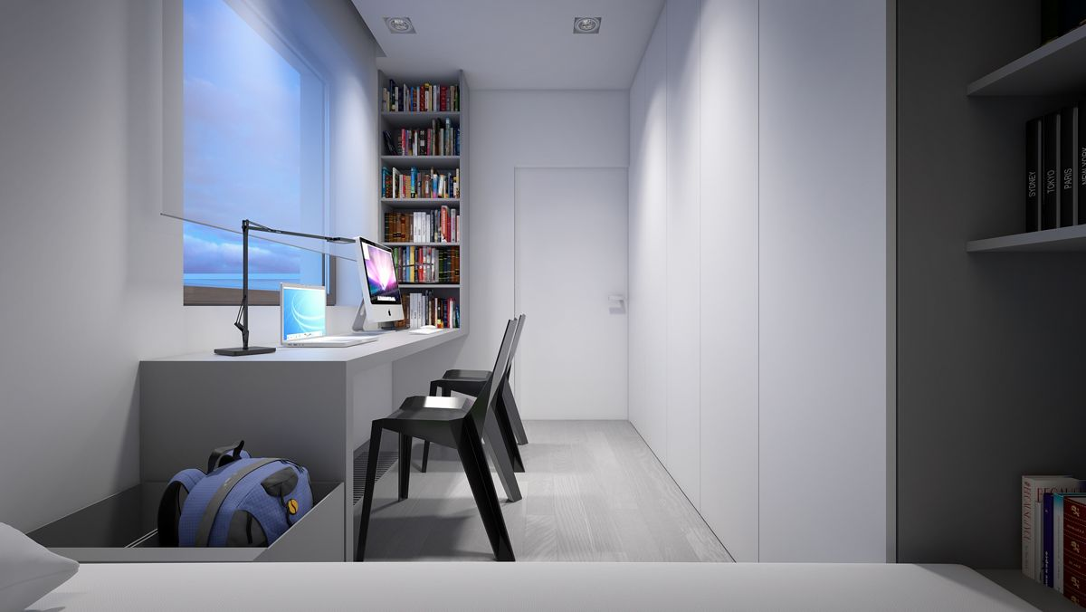 The apartment of 90 square meters - Warsaw. on Behance ...