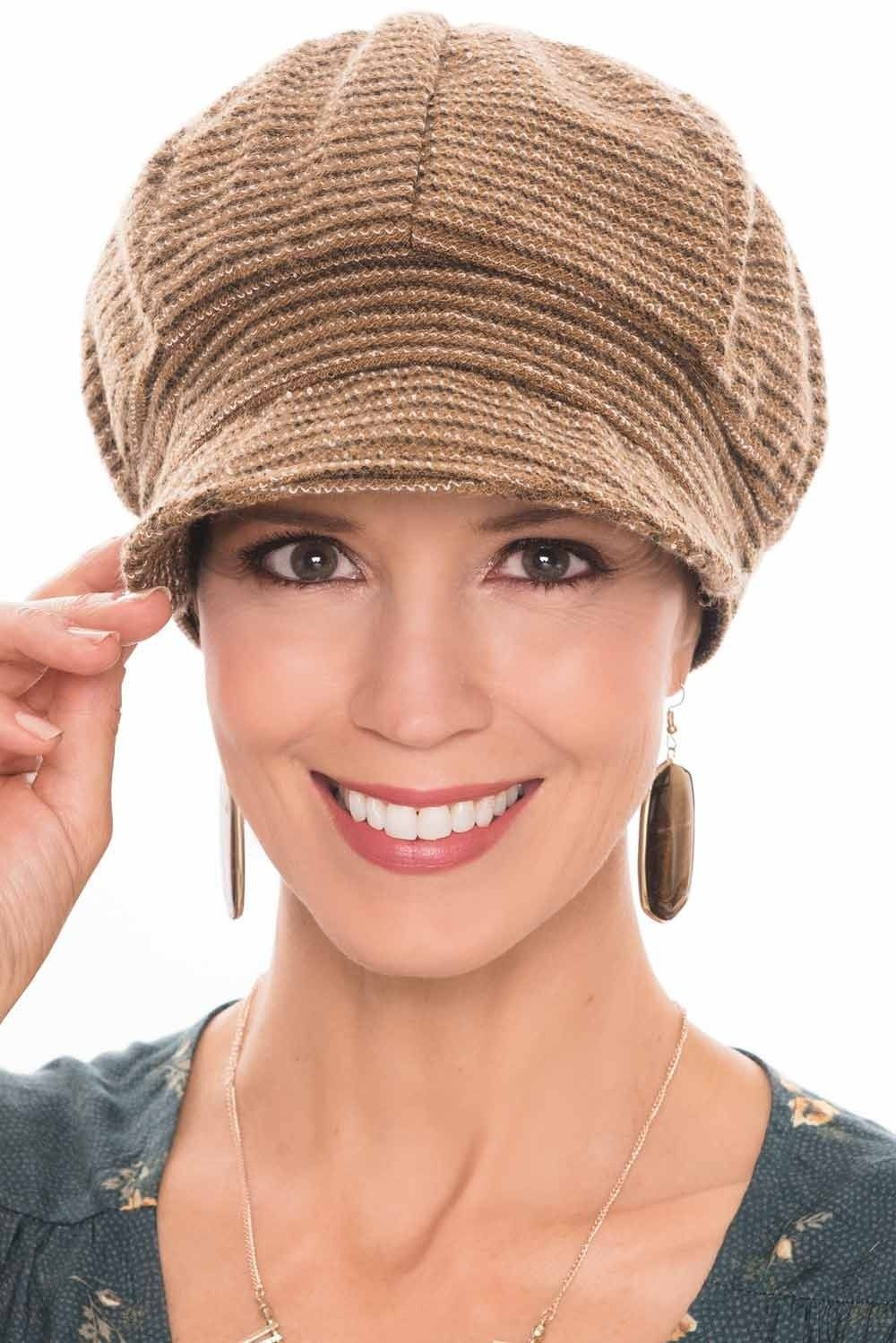 77f58833 Tweed Talia Newsboy Hat   Fall & Winter Cap for Women   cancer ...