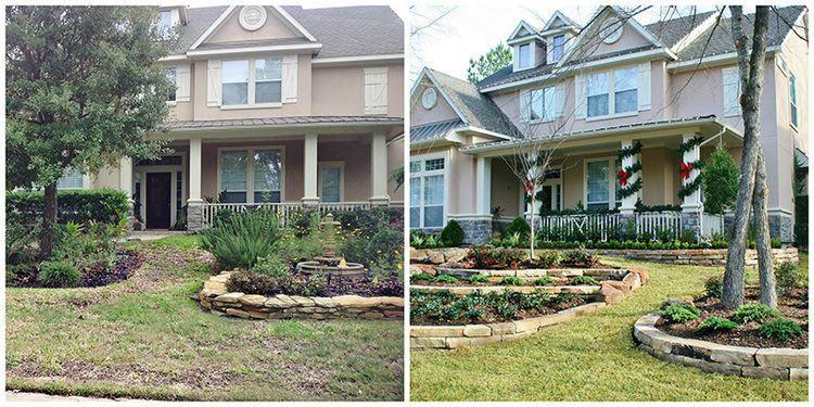 Woodlands Landscaping Services #backyarddesign | Backyard ...