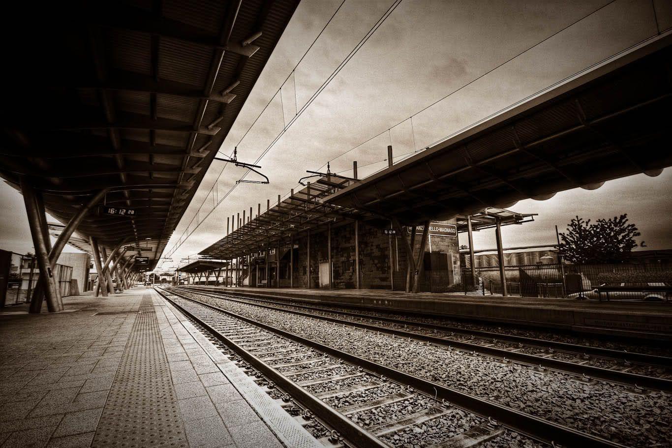 Resultado de imagen de estaciones de trenes antiguas a for Imagenes de techados