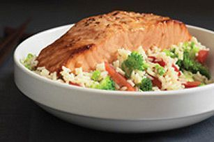 Asian Salmon Supper Recipe  Kraft Canada