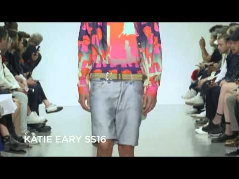Katie Eary SS16 at London Collections Men - YouTube
