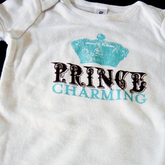 06f646d61 SALE Prince Charming Baby Onesie by wileyvalentine on Etsy, $8.00 ...