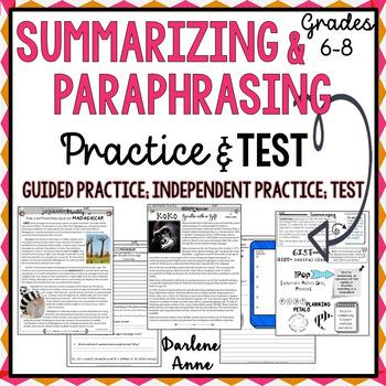 Pin On Top Upper Elementary Teachers Paraphrasing Activitie For Grade 7