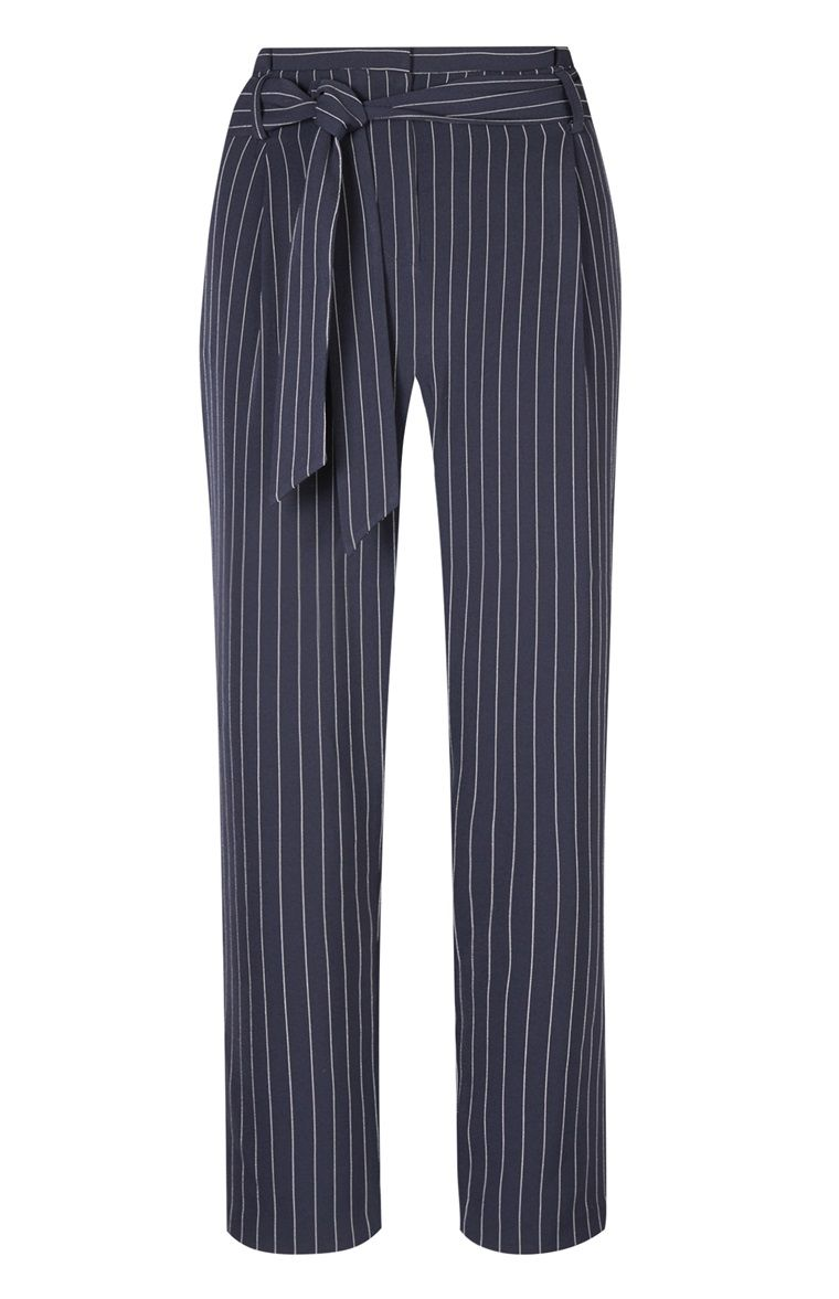 92f9ded91d301c Primark - Gray Pinstriped Paper Bag Pants | Fashion - Clothes ...