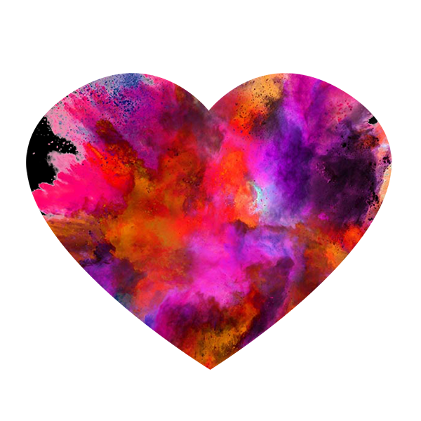 Free Download High Quality Multi Color Heart Png Transparent Background This Is Vector Lovely 3d Png Multi Color Heart Transpa Colorful Heart Color Multi Color