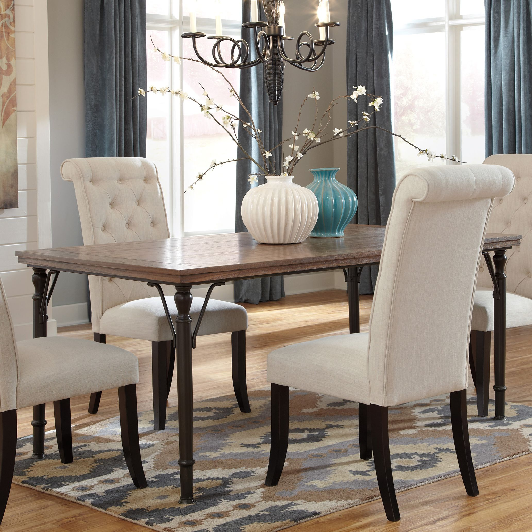 Signature Design By Ashley Tripton Rectangular Dining Room Table | Overstock™  Shopping   Great Deals On Signature Design By Ashley Dining Tables