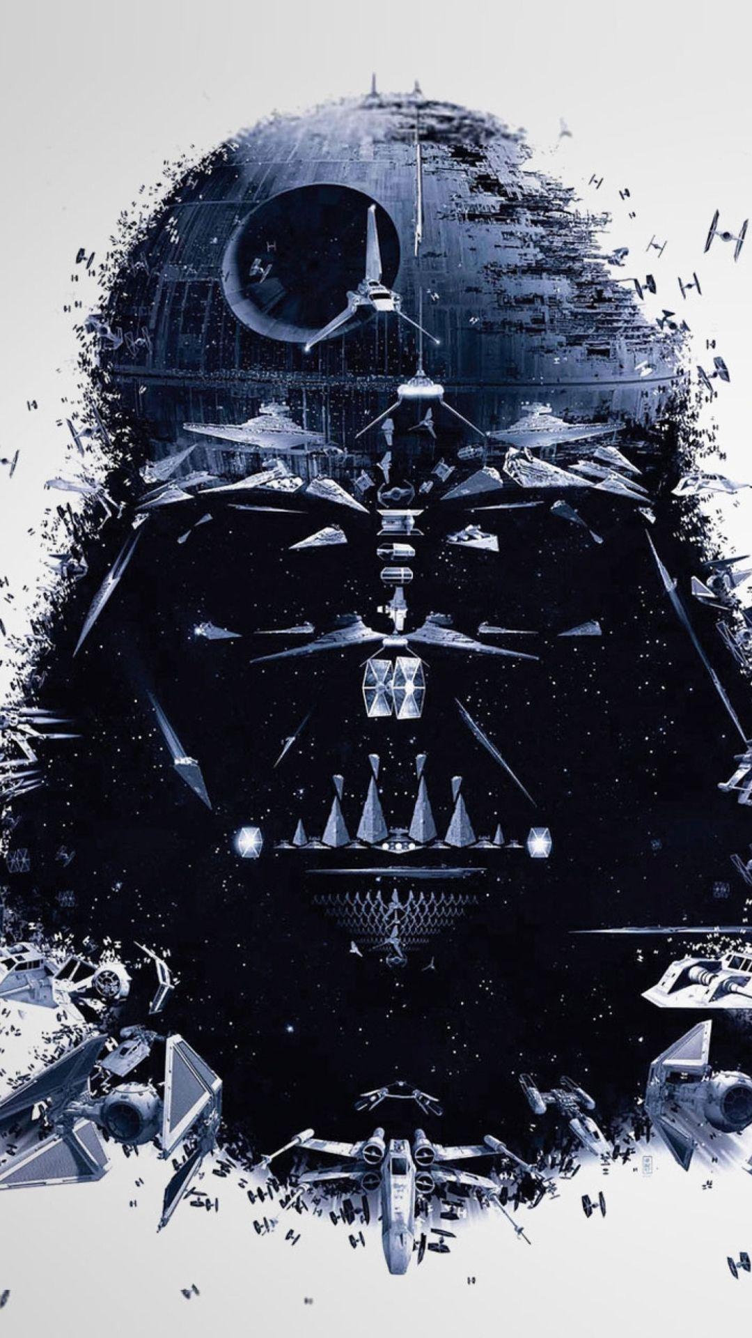 Darth Vader Star Wars Wallpaper 1080x1920 Poster Con Illustrazioni Immagini Illustrazioni