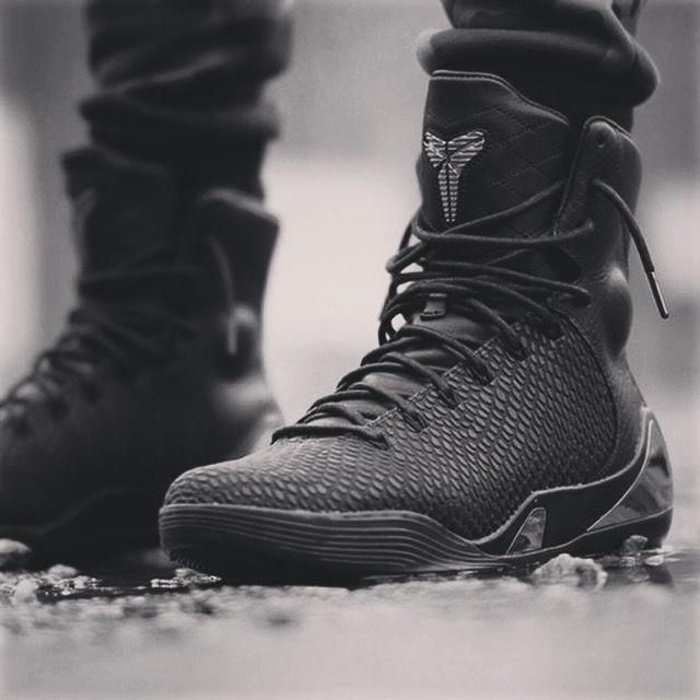 "Nike Kobe 9 High KRM EXT ""Black Mamba"" Basketball Or"