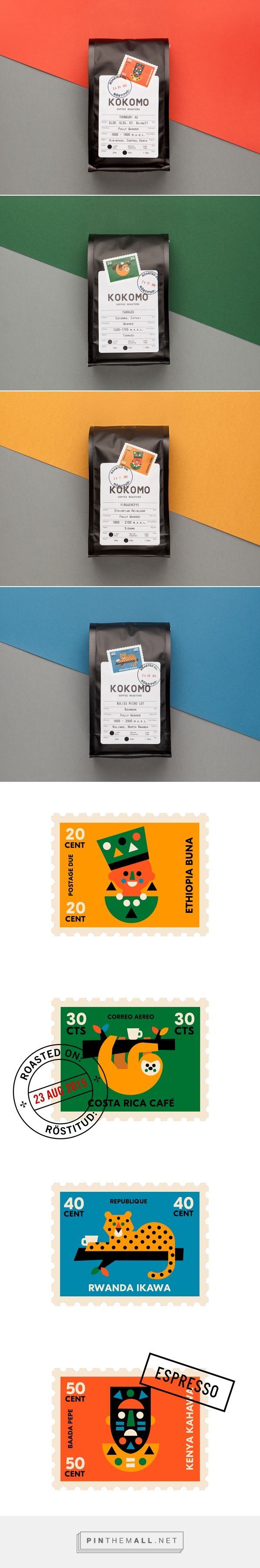 Kokomo Brand Coffee Packaging by AKU