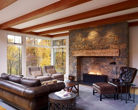 farmhouse living room decorating ideas | ... Farmhouse Living Room ~ mynines.com Decorating & Interior Design