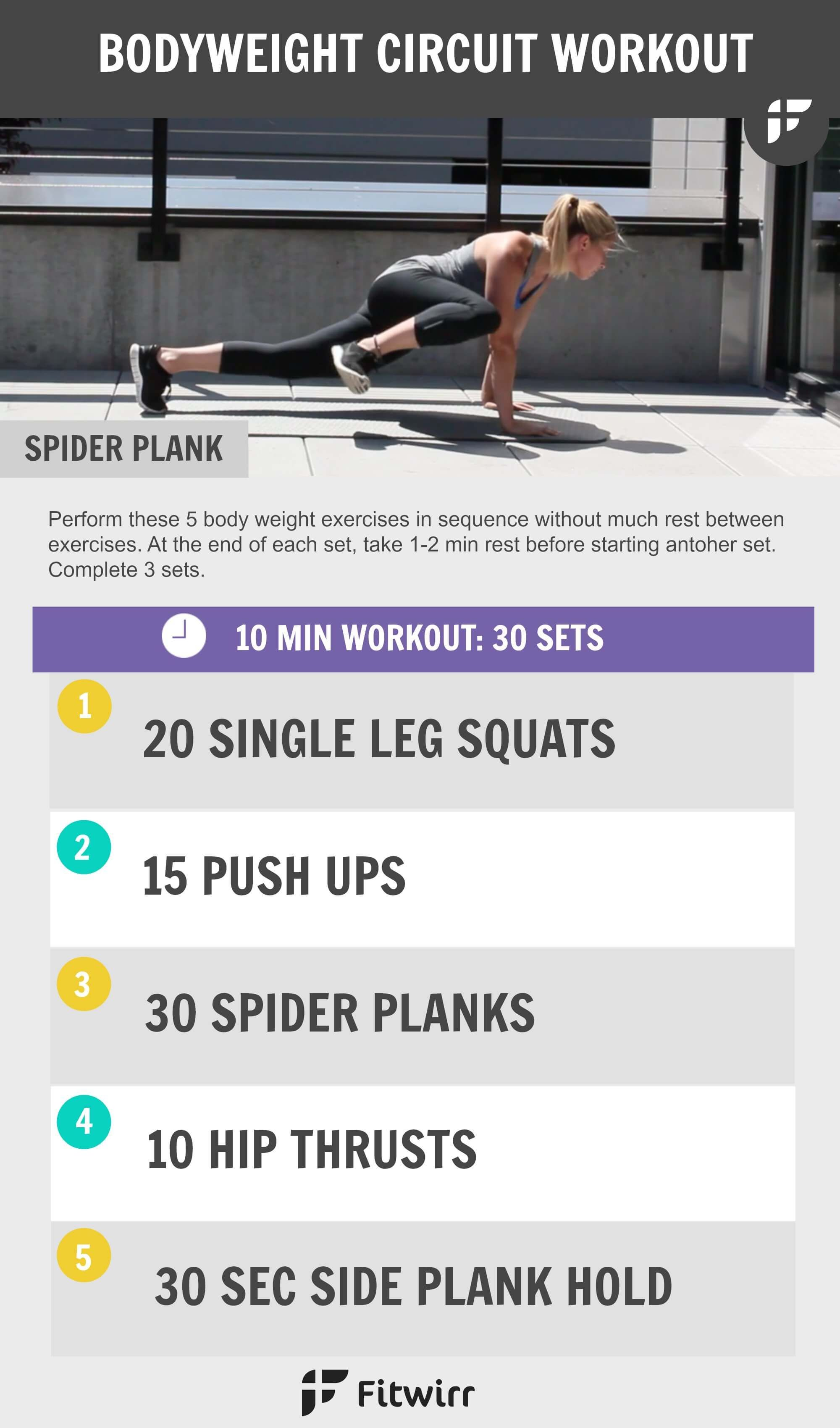 Best Bodyweight Exercises You Can Do Anywhere to Get Fit