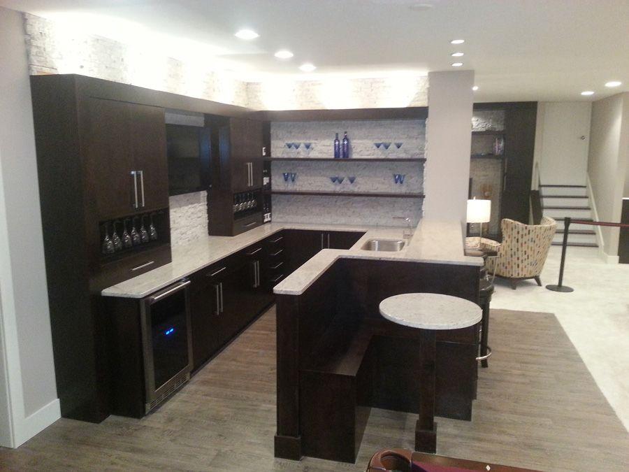 Dream Basement  Cerha Kitchen & Bath Design Center  Cerha Inspiration Kitchen And Bath Design Center Design Ideas