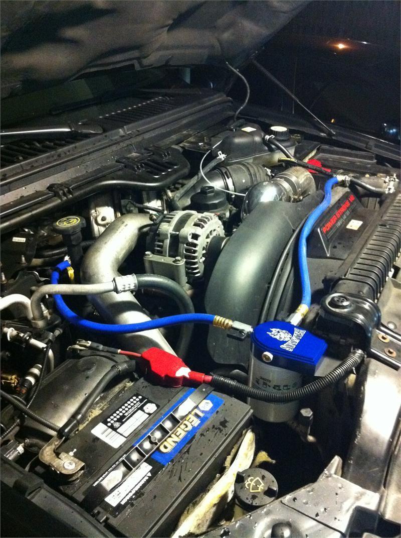 Sinister Diesel Coolant Filtration System for Ford Powerstroke 2003-2007 6.0 L