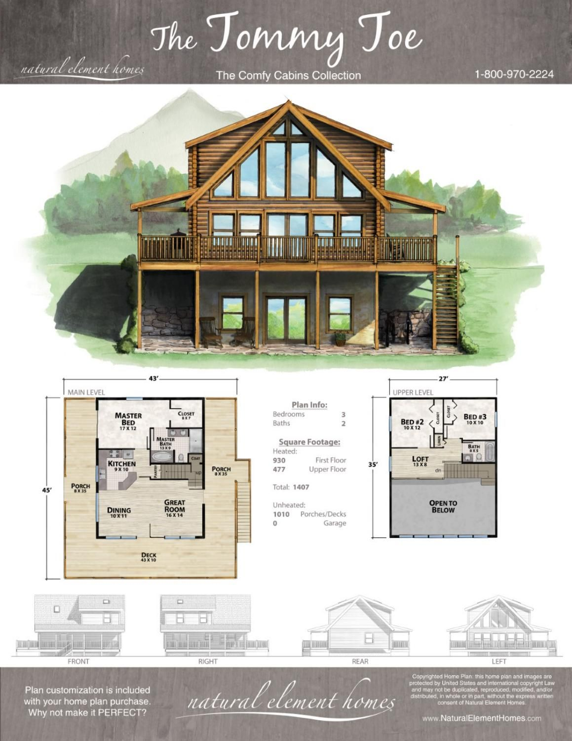 Comfy Cabins Medium Home Plans From Natural Element Homes Lake House Plans Cabin House Plans Cabin Floor Plans