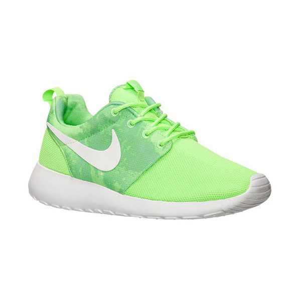 Women's Nike Roshe One Print Casual Shoes ($80) ❤ liked on Polyvore  featuring shoes