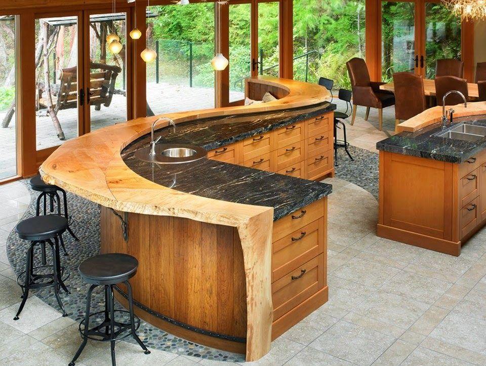 Junio 2014 cocinas con estilo dise o de exteriores - Diseno de cocinas rusticas ...